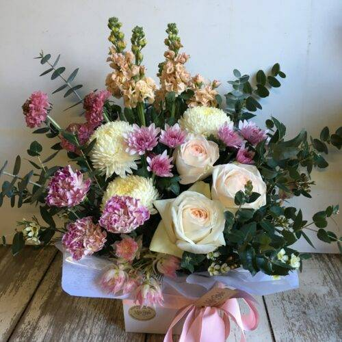 Pastel Box Arrangement 3