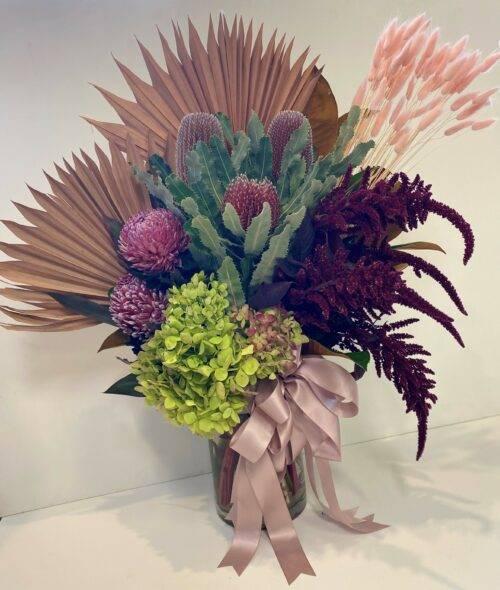 Je T'adore vase arrangement 2