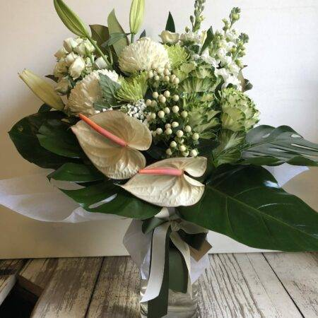 White Luxe Vase Arrangement