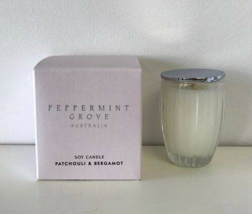 Patchouli and Bergamot candle 350g
