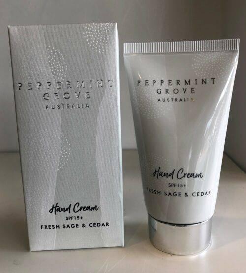 Sage and Cedar Hand Cream