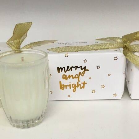 Christmas candle shortbread