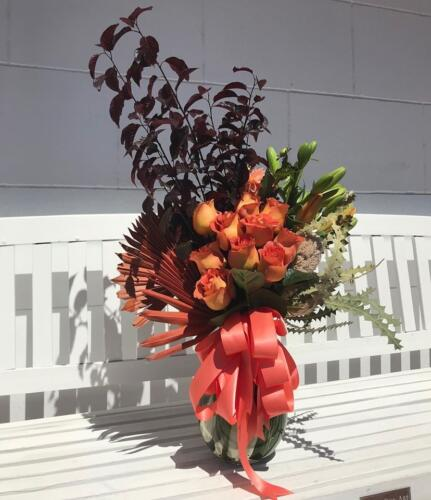 vase insta orange